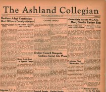 Image of 10-1919351212 - The Ashland Collegian December 12, 1935 Volume 14 Number 11