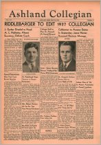Image of 10-1919360528 - The Ashland Collegian May 28, 1936 Volume 14 Number 25