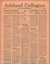 Image of 10-1919360925 - The Ashland Collegian September 25, 1936 Volume 15 Number 1