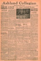 Image of 10-1919390119 - The Ashland Collegian January 19, 1939 Volume 17 Number 12