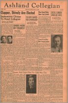 Image of 10-1919390504 - The Ashland Collegian May 4, 1939 Volume 17 Number 22