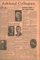 Image of The Ashland Collegian June 1, 1939