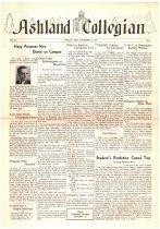 Image of 10-1919411212 - Ashland Collegian December 12, 1941 Volume 20 Number 8