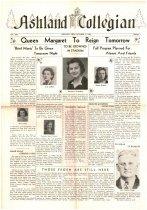 Image of 10-1919421023 - Ashland Collegian October 23, 1942 Volume 21 Number 5