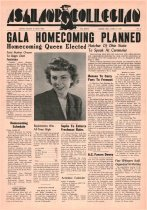 Image of 10-1919481006 - Ashland Collegian October 6, 1948 Volme 27 Number 4