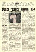 Image of 10-1919490923 - Ashland Collegian September 23, 1949 Volume 28 Number 2