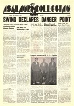 Image of 10-1919501208 - Ashland Collegian December 8, 1950 Volume 29 Number 9