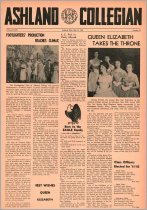 Image of 10-1919610519 - Ashland Collegian May 19, 1961 Volume 39 Number 13