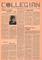 Image of 10-1919611103 - Ashland Collegian November 3, 1961 Volume 40 Number 3