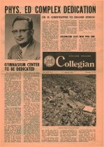 Image of Ashland Collegian November  17, 1967