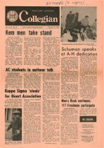 Image of 10-1919700219 - Ashland Collegian February 19, 1970 Volume 48 Number 16