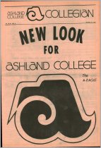 Image of Ashland Collegian October 15, 1970