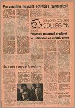 Image of 10-1919720420 - Ashland Collegian April 20, 1972 Volume 50 Number 24