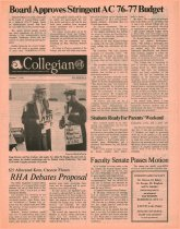 Image of 10-1919761007 - Ashland Collegian October 7, 1976 Volume 55 Number 4