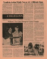 Image of 10-1919771117 - Ashland Collegian November 17, 1977 Volume 56 Number 10
