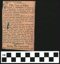 Image of 2017-011936diary - William Ashbrook diary 1936