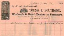Image of Young & Southard receipt