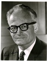 Image of signed photograph Barry Goldwater