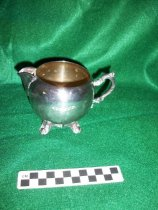 Image of Silver pitcher small. - Objects Collection
