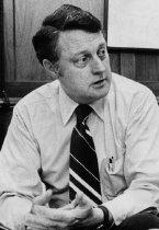 "Image of 2017-191988Cannon - [Cassette audio tape] Cannon, James.  Ashbrook Center lecture ""The Bush Administration: Prospects and Perils"" December 7, 1988. Ashland University, Ashland, Ohio."