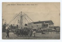 "Image of Postcard, ""Jolly Bathers"" at Midland Beach, 1908 postmark"