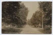 Image of Postcard, Guyon Avenue looking west, Oakwood Heights, 1918