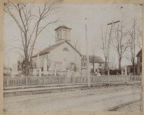 Image of St. John's Evangelical Lutheran Church, Port Richmond, ca. 1890