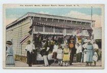 Image of Postcard, The Souvenir Booth, Midland Beach, Staten Island, N.Y.
