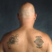 Image of Ron Malanga: tattoos - Print, Photographic