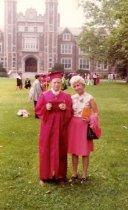 Image of Ruth Danischewski and her son Glen, June 1978