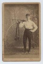 Image of Charlie Meissner, photo by John Loeffler, 1886