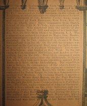 Image of detail, regiment history (1)