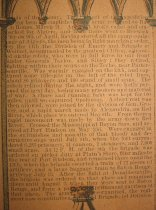 Image of detail, regiment history (2)