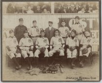 Image of Stapleton Baseball Club, photo by George Bear, 1905