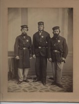 Image of Tompkinsville Fire Police Company, ca. 1865-1875