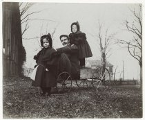 Image of [Jack Eccleston and twins] - Print, Photographic