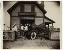 Image of [U.S. Life-Saving station in Bay Head, N.J.] - Print, Photographic