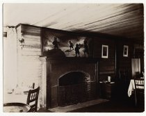 Image of [Interior with fireplace] - Print, Photographic