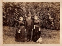 Image of [Aunt Minn, Uncle Oswald, and Alice Austen] - Print, Photographic