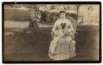 Image of [Alice Austen with Punch] - Print, Photographic