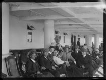Image of Passengers on Graf Waldersee, photo by Alice Austen, 1909