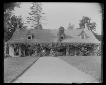 Image of Our house from end of front walk, photo by Alice Austen, 1892
