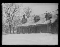 Image of Clear Comfort in the snow, photo by Alice Austen, ca. 1890-1900
