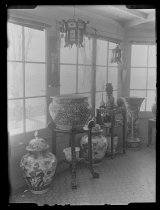 Image of [Sunroom at Clear Comfort] - Negative, Glass-plate
