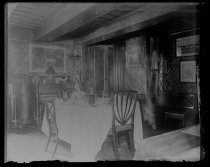 Image of Our dining room - Negative, Glass-plate