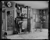 Image of Austen House bedroom, photo by Alice Austen, 1894