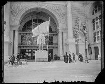 Image of Statue of Columbus, photo by Alice Austen, 1893