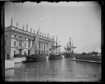 Image of The three Caravels, photo by Alice Austen, 1893