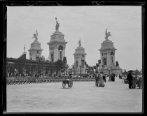 Image of Triumphal Arch - Negative, Glass-plate