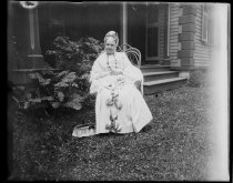 Image of [Mrs. Cooper] - Negative, Glass-plate